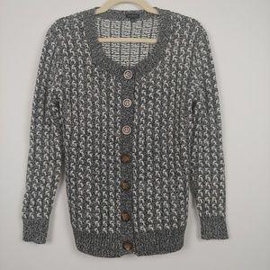 Talbots Chunky Knit Cardigan Size S